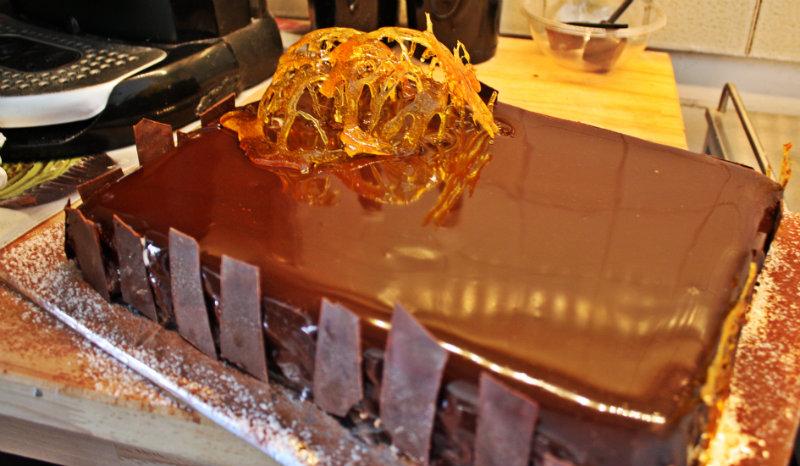 Royal au chocolat , sperimentazioni al cioccolato